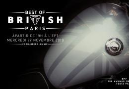 Soirée Triumph Best of British
